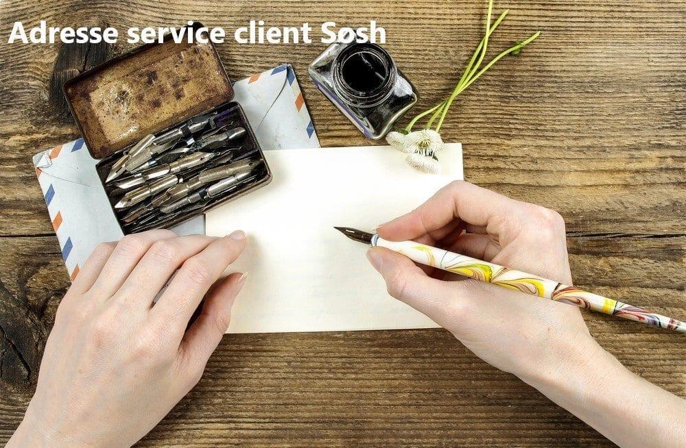 adresse du service client Sosh