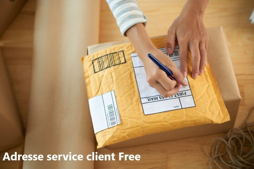 adresse service client Free