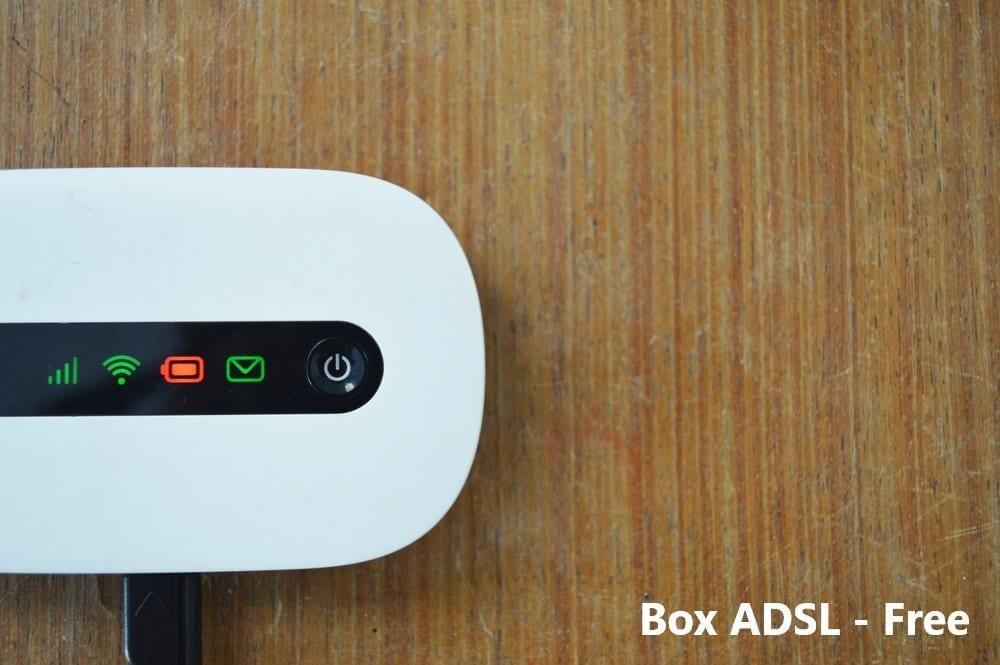 Box ADSL Free