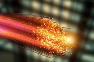 ouverture ligne fibre optique