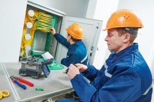 Raccordement fibre optique logement neuf