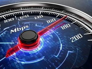 vitesse connexion internet