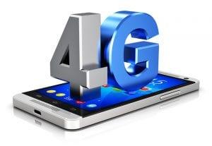 débit réseau 4G