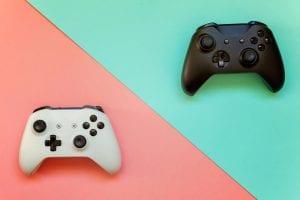 Manettes console jeu vidéo