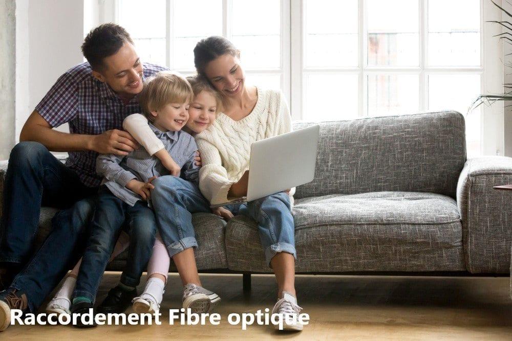 Raccordement fibre optique maison individuelle