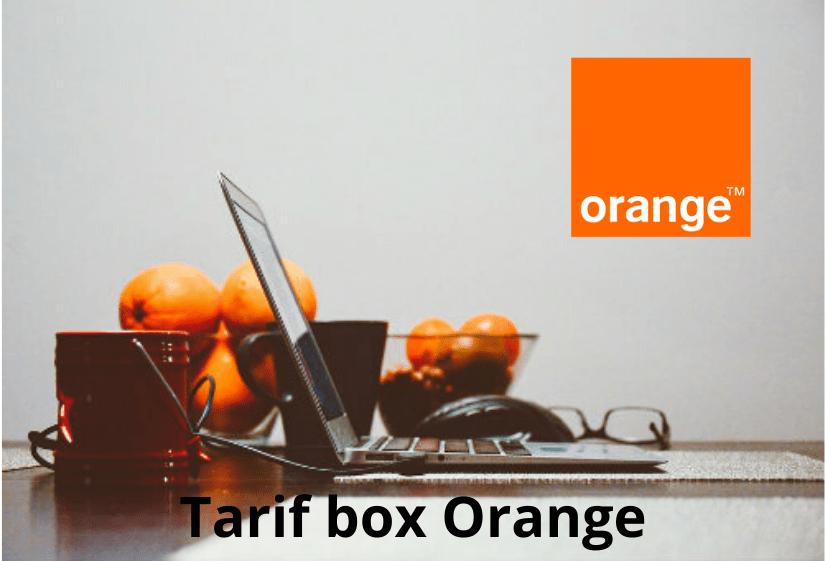 Tarif box Orange