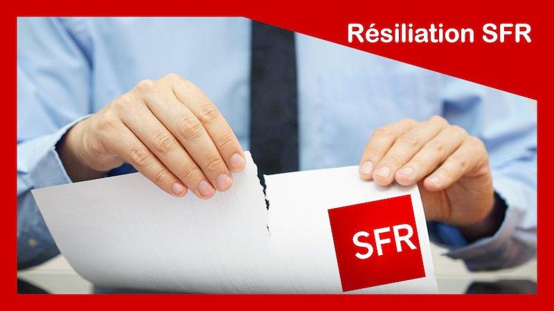 résiliation sfr