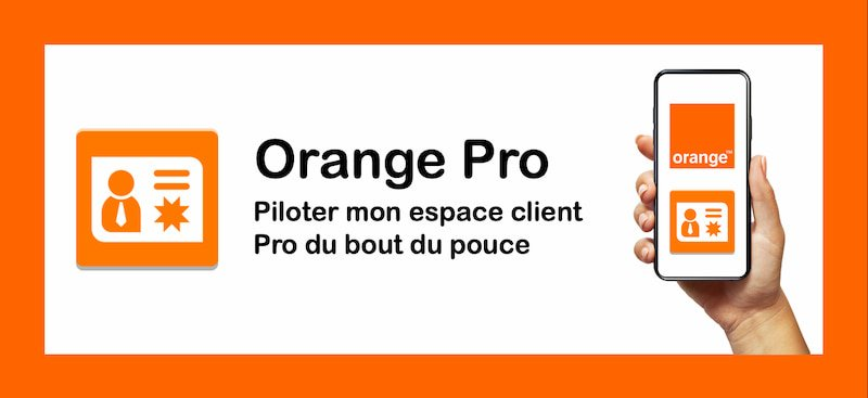 App mobile orange pro