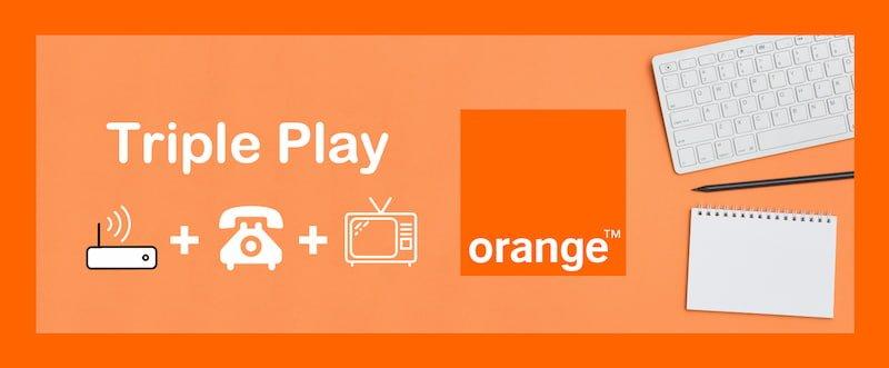 Triple play orange